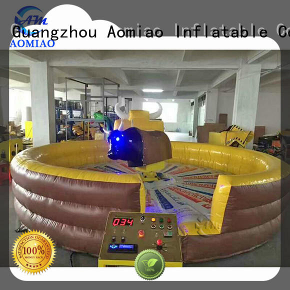 hot selling blow up mechanical bull inflatable producer for sale