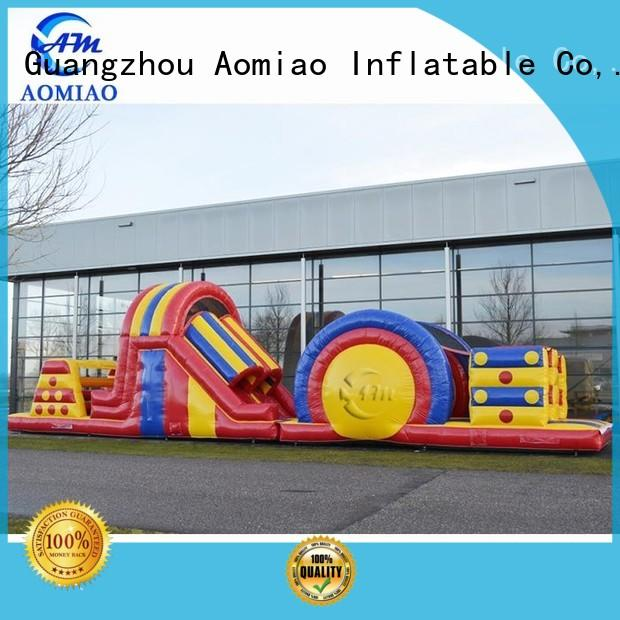 AOMIAO new backyard obstacle course factory for exercise