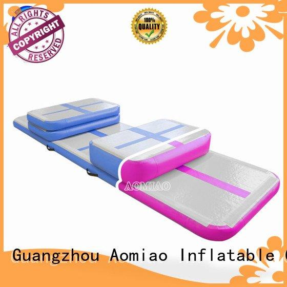 air tumble track inflatable track gymnastics AOMIAO
