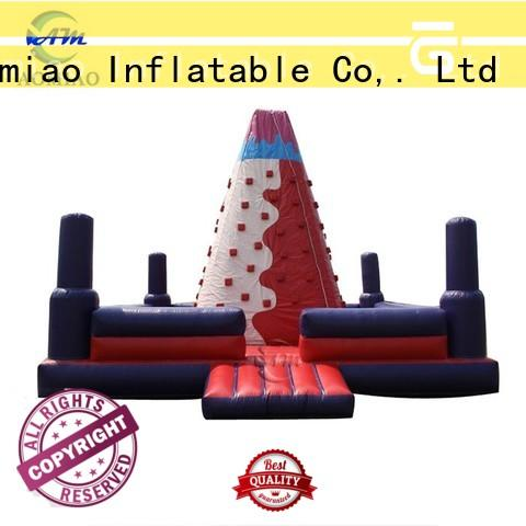 AOMIAO outdoor inflatable climbing wall supplier for child