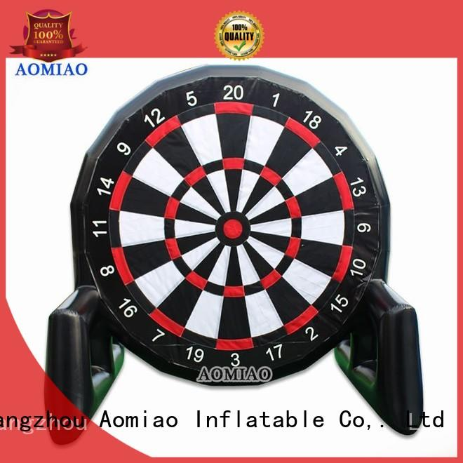 AOMIAO new Inflatable soccer darts factory for exercise